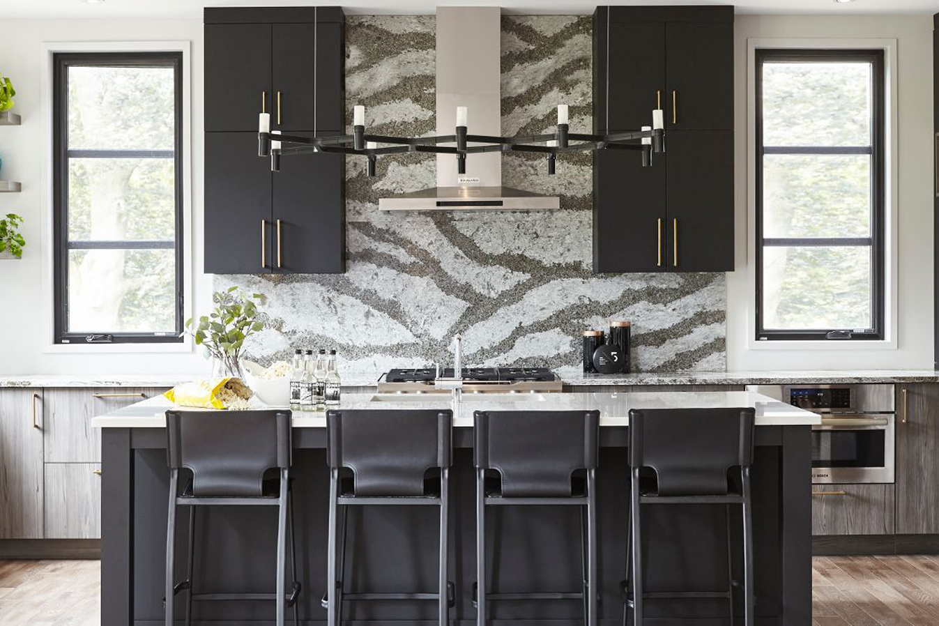 Backsplash featuring Cambria Galloway