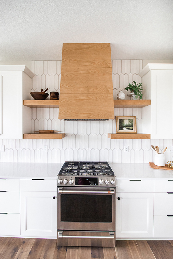 White Kitchen Featuring CKF 360 Signature Cabinetry